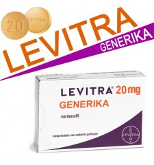 Levitra Generika 20mg kaufen per Nachnahme